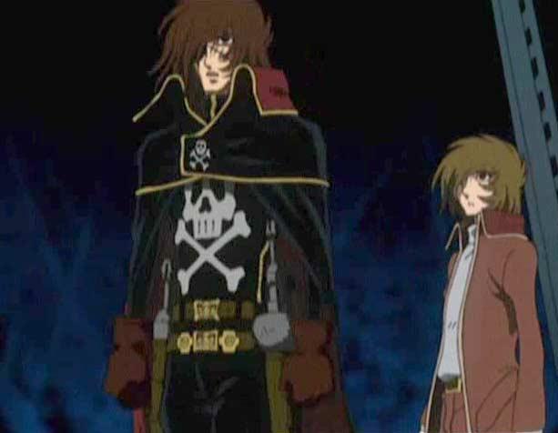 Le rapport entre Tadashi et Albator est bancale (Herlock Endless Odyssey)
