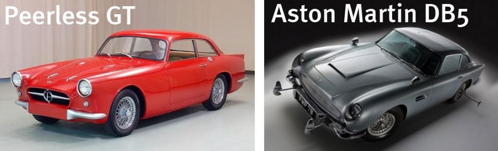 Les deux voitures qui ont inspiré Finn McMissile