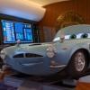 Finn McMissile dans son avion (Cars - Pixar)