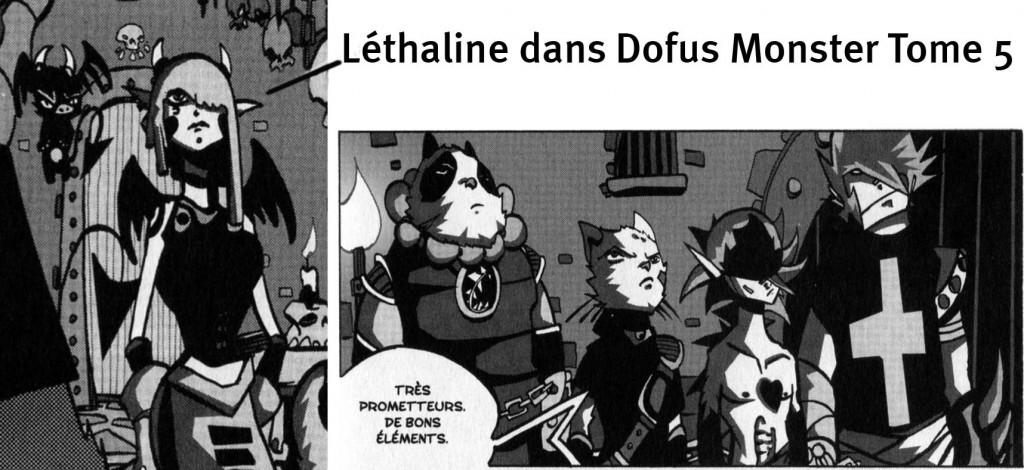 Léthaline Sigisbul achète Nomekop et sa bande (tome 5 de Dofus Monster)