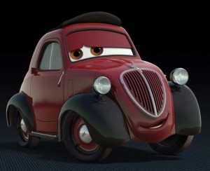 Oncle Topolino (Pixar - Cars 2)