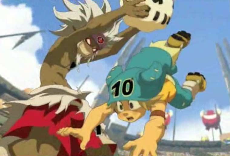 Kriss la Krass affronte Yugo (Boufbowl - Wakfu)