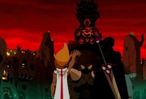 Rushu règne sur le monde des Shushus (Wakfu - Dofus)
