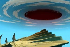 Qilby a créé un portail dimensionnel pour Rushu