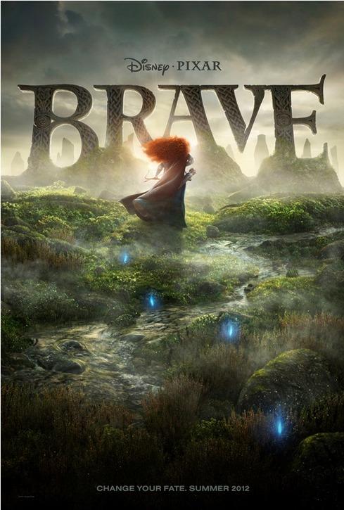 Affiche du film Brave (Pixar)