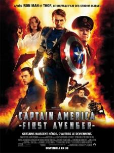 Affiche française du film Capitain America