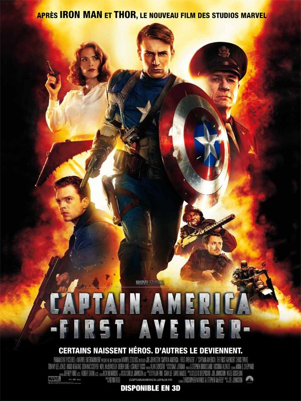 Topic pour films - Page 3 Capitaine_america_affiche