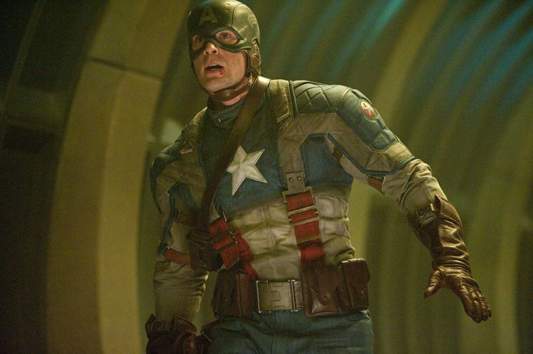 Capitain America (tenue initiale du film)