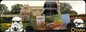 Dark Vador visite Disneyland
