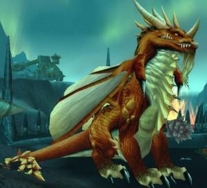 Korialstrasz sous forme de dragon