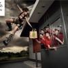 Publicité Mac Donald Tomb Raider avec Lara Croft