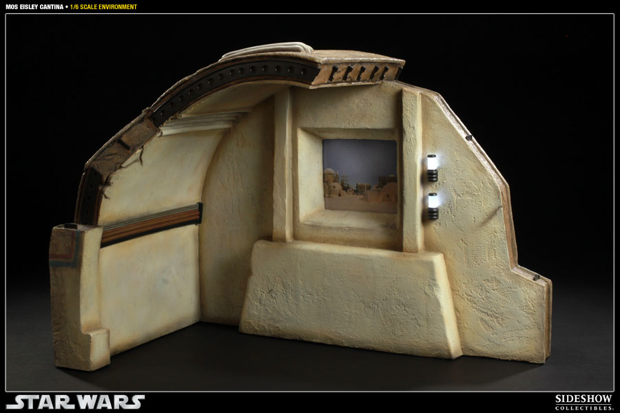 Diorama Star Wars Sideshow Collectibles : Mos Eisley