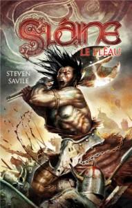 Couverture du roman Slaine : le fléau de Steven Saville