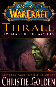 Couverture anglaise du livre Thrall, Twilight of the Aspects
