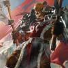 Garrosh en arme défandant la Horde (Warcraft)