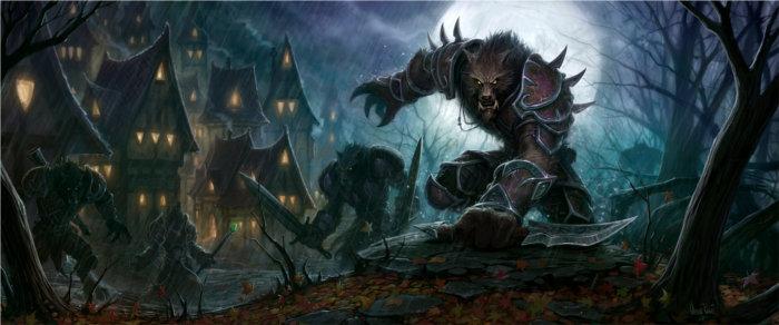 Worgen à Gilnéas (Warcraft)