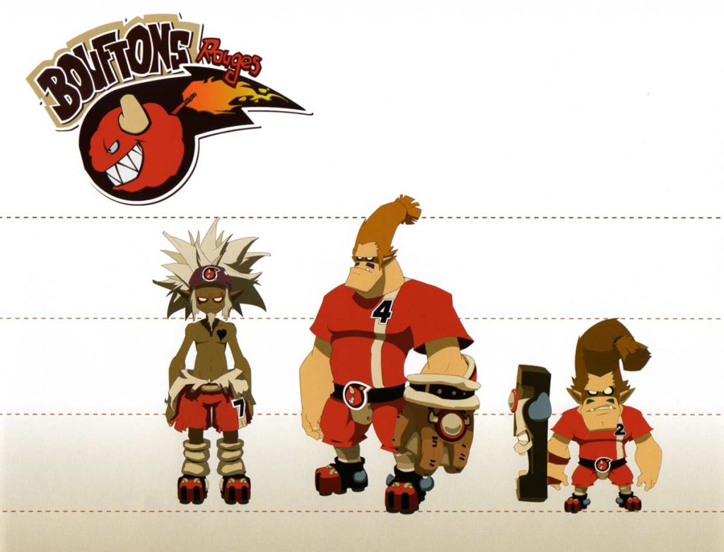 Les Bouftons Rouges (Art book Wakfu 5)