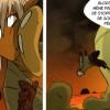 Ekmo donne une correction à son fils Kriss la Krass (Comics Boufbowl n°2 - Wakfu))
