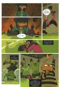 Page 2 du Comics Boufbowl n°2 (Wakfu)