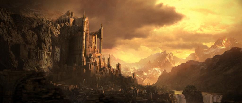 Artwork de la ville d'Ureh (Diablo) d'après http://diablo.wikia.com/wiki/Ureh