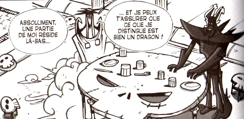 Brumaire est toujours prt  aider Djaul (Dofus tome 6)