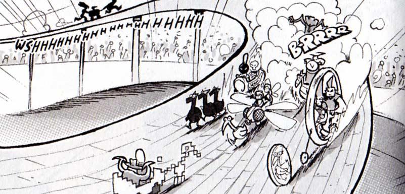 La course de Drago Kart (Dofus)