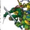 Sur cette affiche on peut voir une tortue Ninja (Dofus Tome 5)