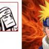 Le logo sur le front du Crâ est celui de Konoha dans Naruto (Dofus)
