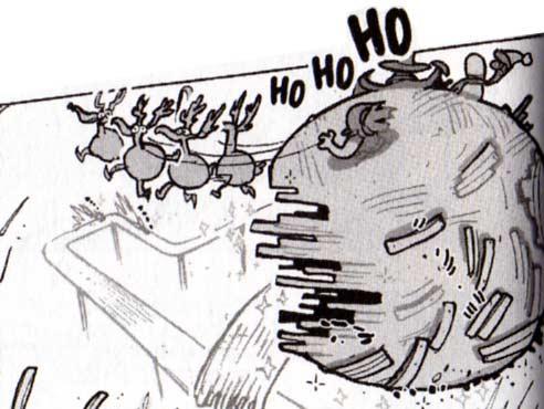 Les drago-dindes évoquent les rennes du père noël (Dofus - Tome 4)