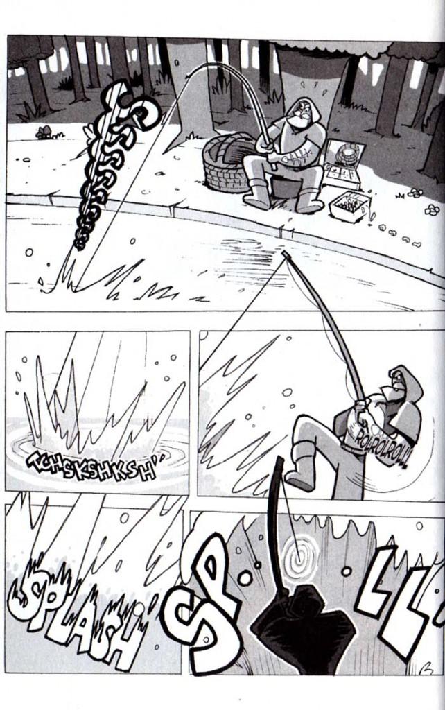 Page 7 du tome 4 du Manga Dofus