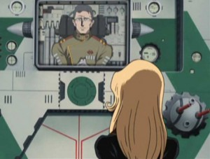 Le commanda Ilita s'explique avec Kei (Herlock, Endless odyssey)