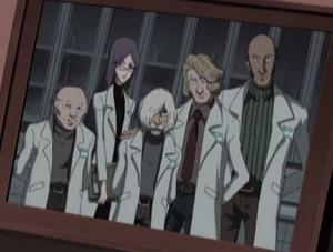 Voici les collègues du professeur Daiba avant qu'ils ne soient Zombifiés (Herlock, Endless odyssey)