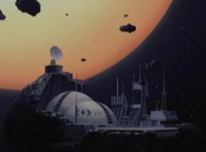 Le mausolée de la base de Pluton (Herlock, Endless odyssey - Albator)