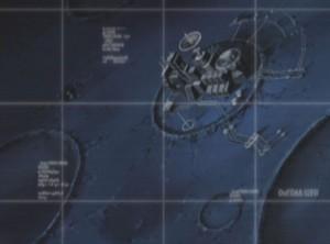 La base de Pluton (Herlock, Endless odyssey - Albator)