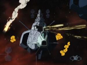 La flotte d'Ilita s'entretue (Herlock, Endless odyssey - Albator)