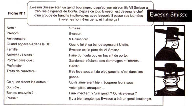 Ewesson Smisse (Dofus - fiche technique)