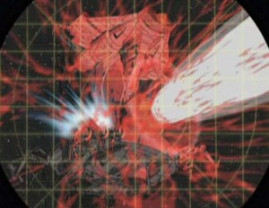 La Fata Morgana tire sur la terre  (Albator - Herlock, Endless odyssey)