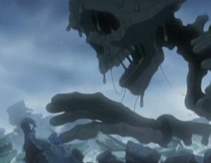 Tadashi est attaqué par un démon venu d'une autre dimension (Albator - Herlock, Endless odyssey - Episode 03)