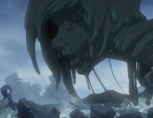 Le monstre prend le visage de Tadashi (Albator - Herlock, Endless odyssey - Episode 03)