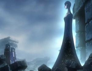 La gardienne veut aider Albator (Herlock, Endless odyssey - Episode 03)