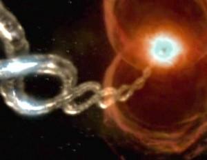 La chaîne hélicoïdale a scellé Noo aux confins de l'univers (Albator - Herlock, Endless odyssey - Episode 03)