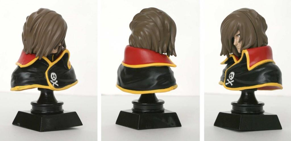 Buste Albator (Gashapon Bandai - Herlock)
