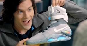 Les Chaussures Nike de Retour vers le futur ont des diodes lumineuses avec une autonomie de 4 heures