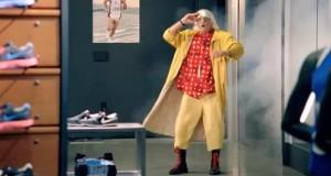 Doc Brown de Retour vers le futur (Publicité Nike)
