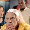 Christopher Lloyd (Doc Brown) dans la publicit Nike inspir de Retour vers le futur 2