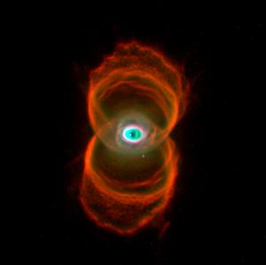 La nébuleuse du sablier vue par le télescope spatial Hubble