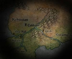 Ureh sur la carte de Diablo