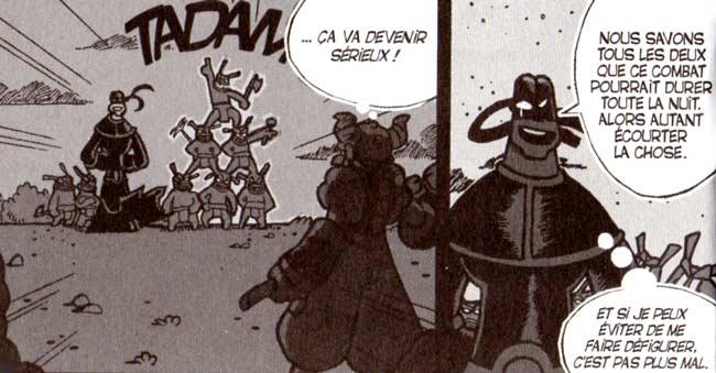 Vil Smisse affronte Crail (Dofus Tome 1)