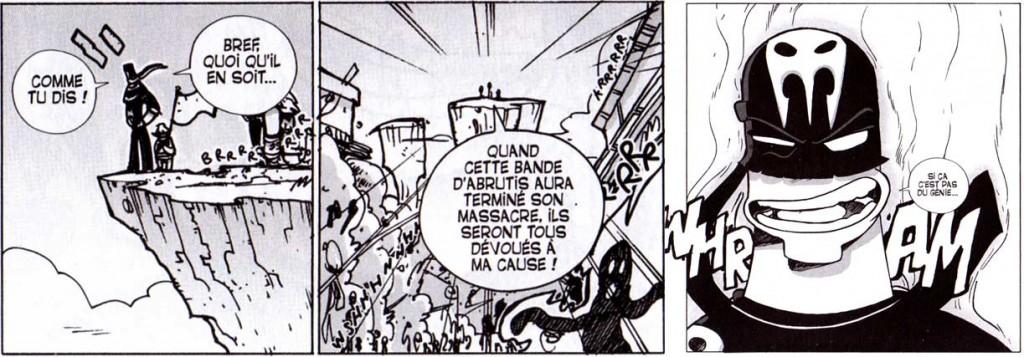 Vil Smisse attaque un village pour asseoir son pouvoir (Dofus Tome 9)