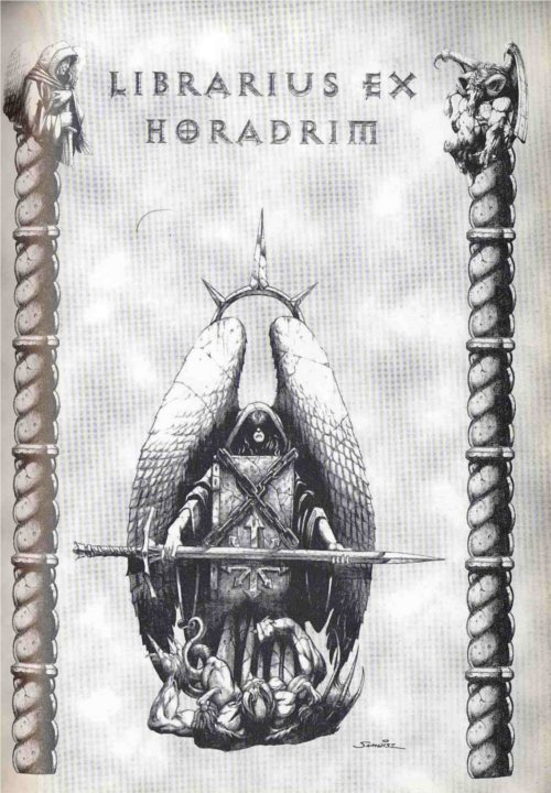 Illustration d'un horadrim dans Diablo 1
